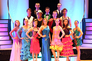 Utah Ballroom Dance Company:  2013 DWYS Cast Photo